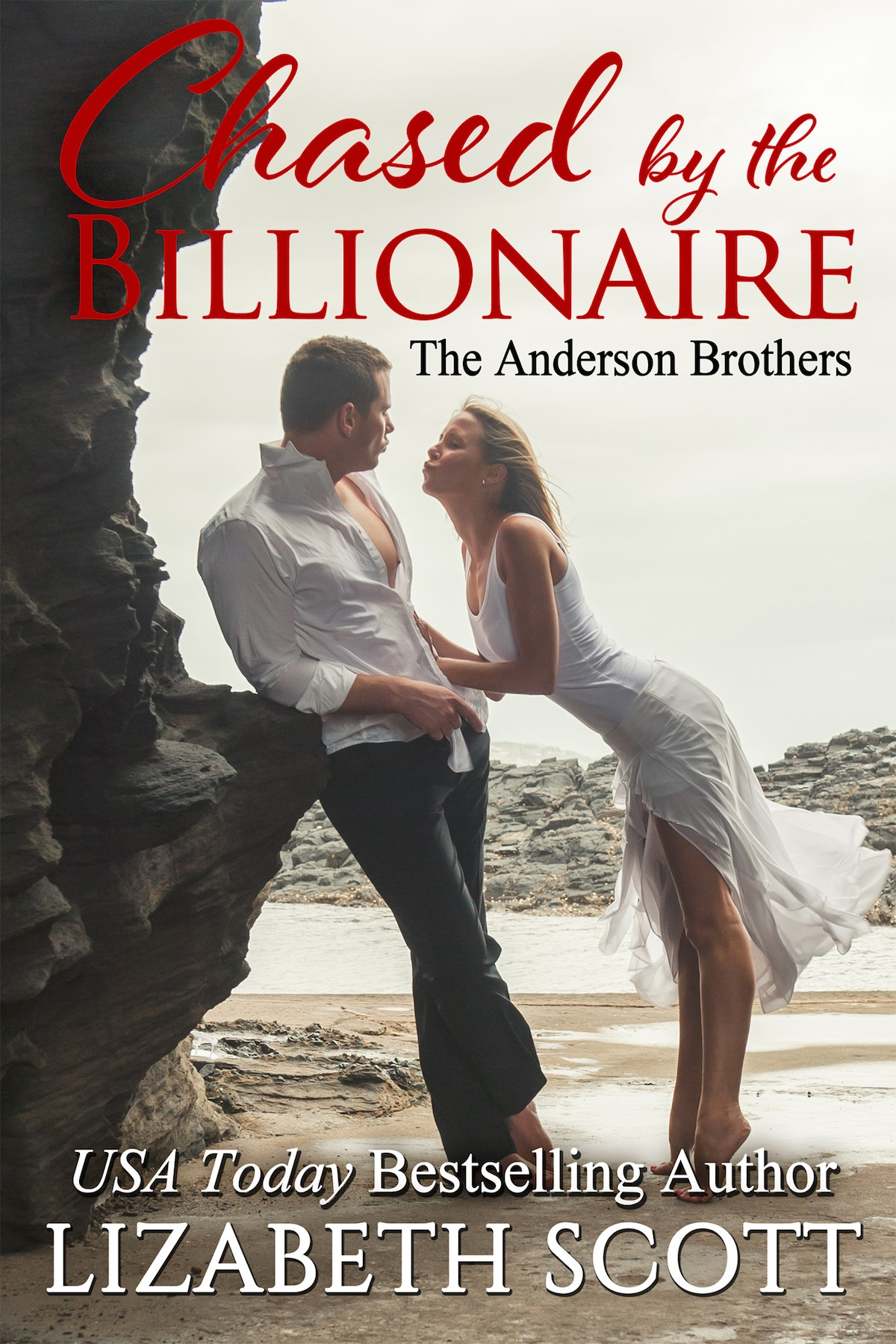 Chased by the Billionaire, Kissed Series, Contemporary Romance, Lizabeth Scott