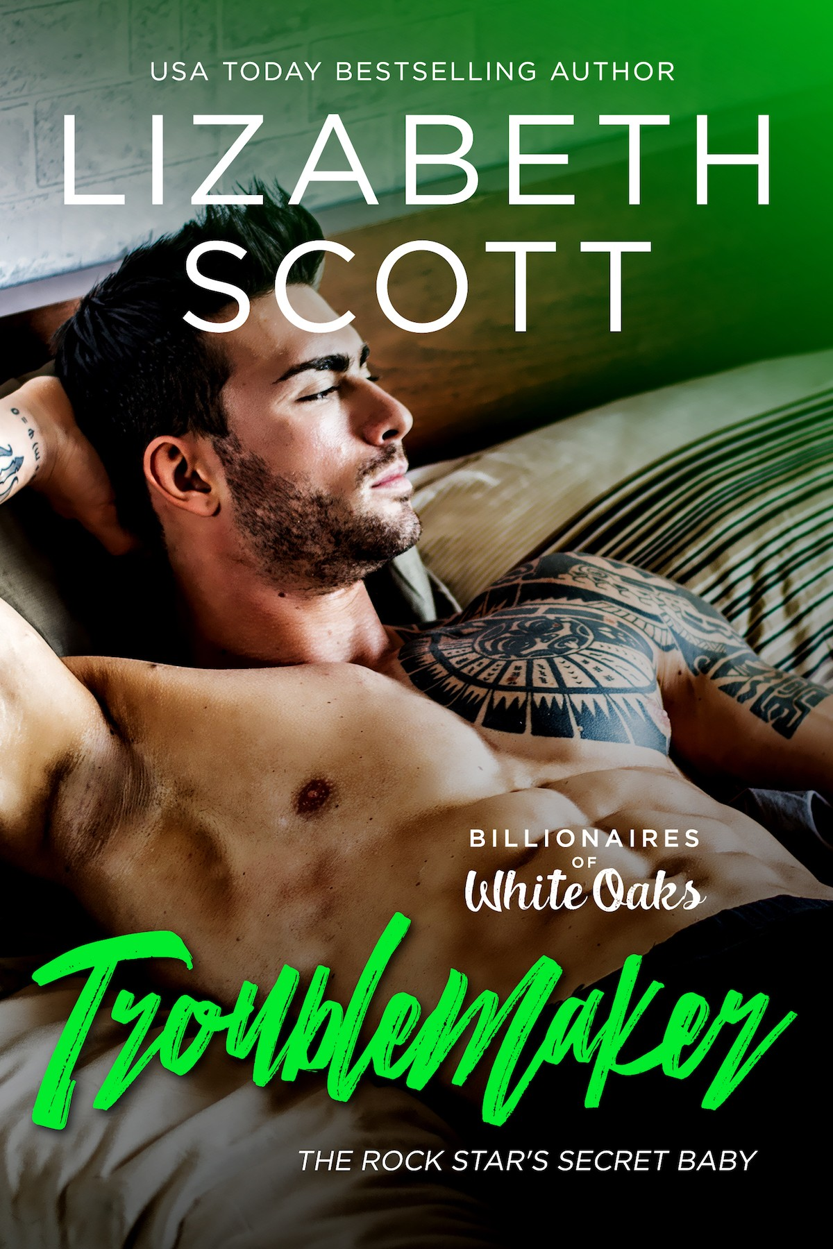 Troublemaker, contemporary romance, Lizabeth Scott